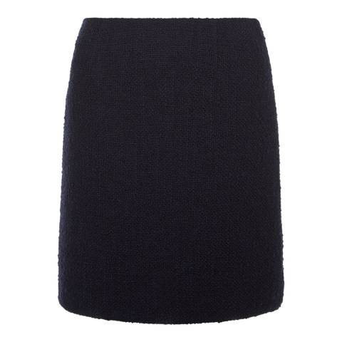 Hobbs London Navy Henna Skirt