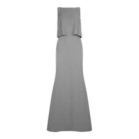 Hobbs London Grey Constance Maxi Dress