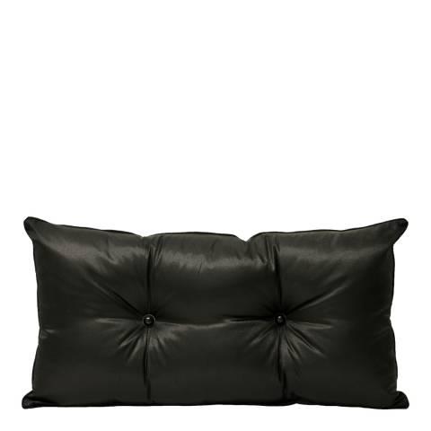 Paoletti Black Monte Carlo Cushion 35x70cm
