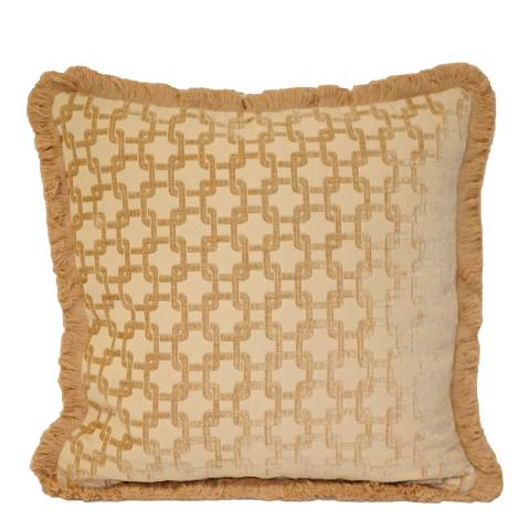 Paoletti Beige Belmont Cushion 45x45cm
