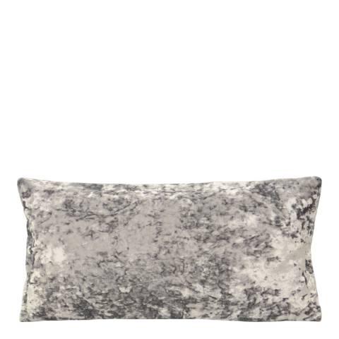 Riva Home Silver Roma Velvet 30x60cm Cushion