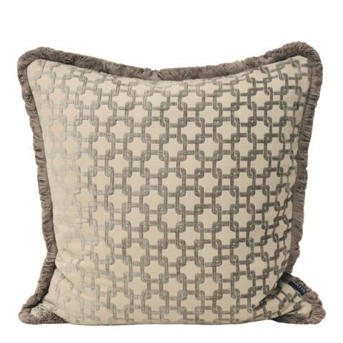Paoletti Silver Belmont Cushion 55x55cm
