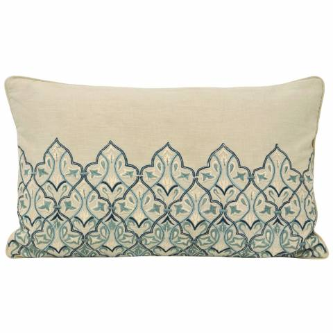 RIVA home Blue Burlington Cushion 30x50cm