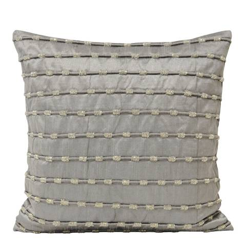 Paoletti Grey Kismet Cushion 50x50cm