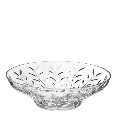 RCR Crystal Laurus Crystal Glass Decorative Centrepiece Fruit Bowl, 30cm