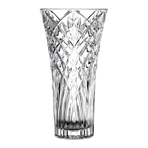 RCR Crystal Melodia Crystal Glass Decorative Flower Vase, 30cm