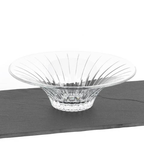 RCR Crystal Timeless Crystal Glass Decorative Centrepiece Fruit Bowl  32cm