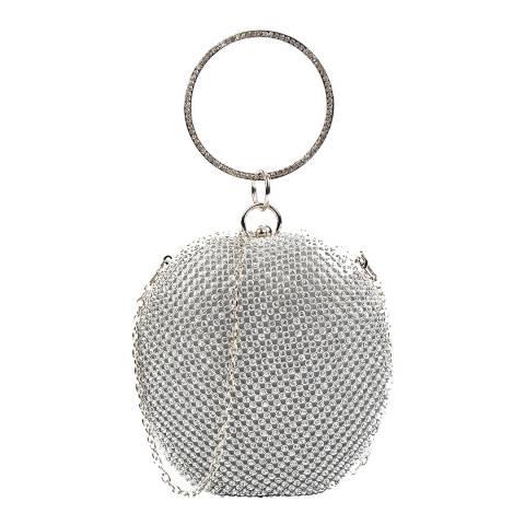 Carla Ferreri Silver Gemstone Clutch
