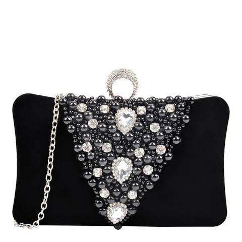 Carla Ferreri Black Pearl Clutch