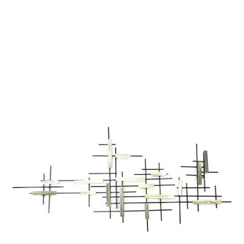Artisan House Steel Junction Sculpture