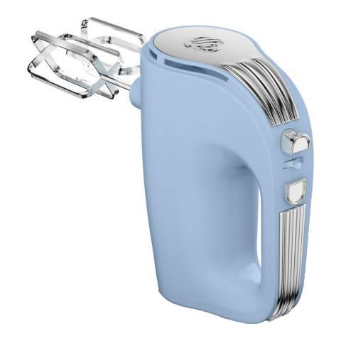 Swan Blue Retro 5 Speed Hand Mixer