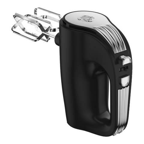 Swan Black Retro 5 Speed Hand Mixer