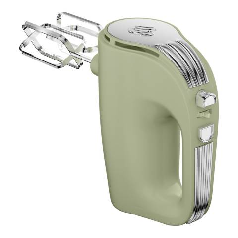 Swan Green Retro 5 Speed Hand Mixer