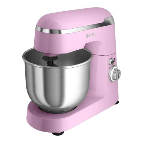 Swan Pink Retro Stand Mixer