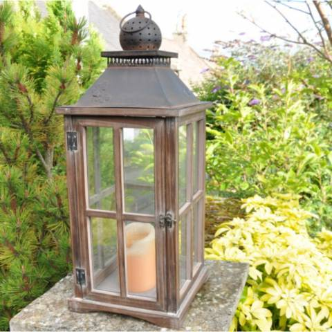 Adobe Acorn Lantern Large