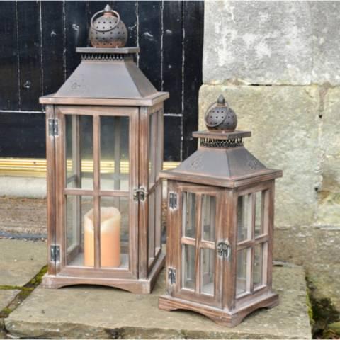 Adobe Acorn Lantern Small