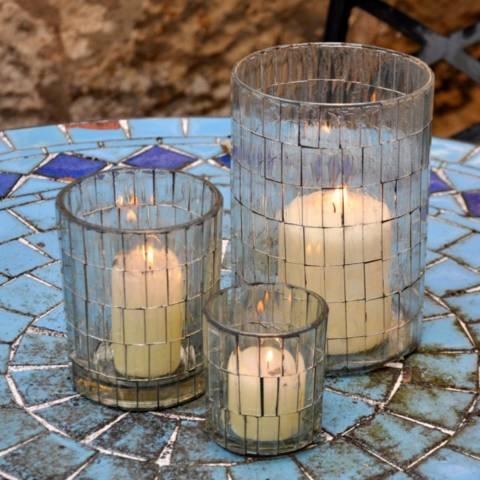 Adobe Andorran Candle Holders