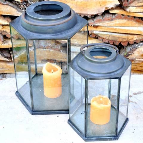 Adobe Saint Gervais Lantern Large