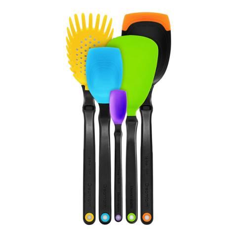 Dreamfarm Multi Coloured Set of the Best Utensils