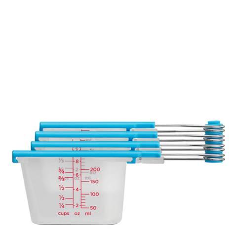 Dreamfarm Clear Levups Measuring Cups