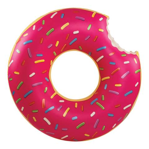 BigMouth Giant Pink Frosted Donut Pool Float