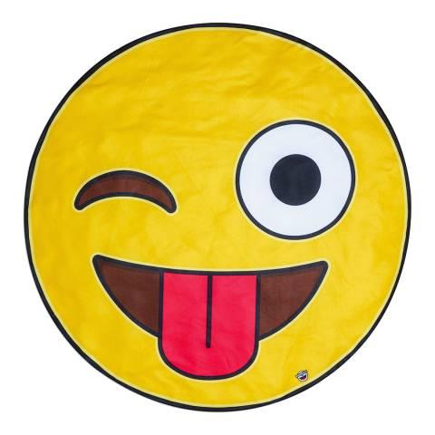 BigMouth Giant Emoji Beach Blanket