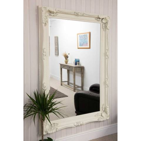 Milton Manor Cream Palais-Royal Leaner/Wall Mirror 185x123cm