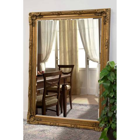 Milton Manor Gold Palais-Royal Leaner Mirror 215x154cm