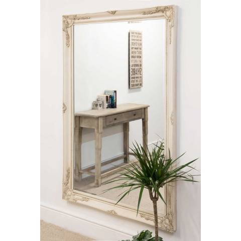 Milton Manor Buxton Ivory Leaner Mirror 170 x 109cm