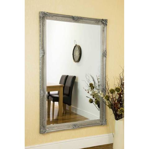 Milton Manor Silver Alice Leaner/Wall Mirror 170x109cm