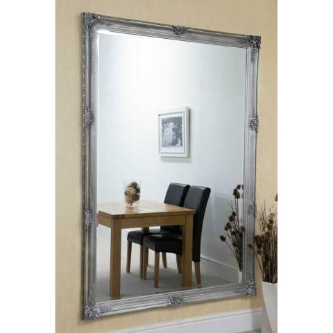Milton Manor Silver Alice Leaner Mirror 201x140cm
