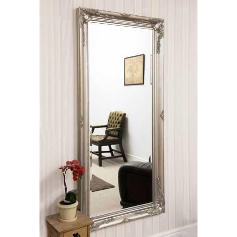 Milton Manor Buxton Silver Full Length Mirror 170 x 79cm