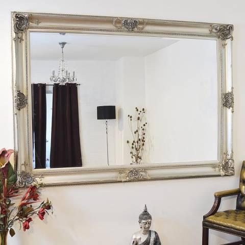Milton Manor Silver Walton Leaner Mirror 213x152cm