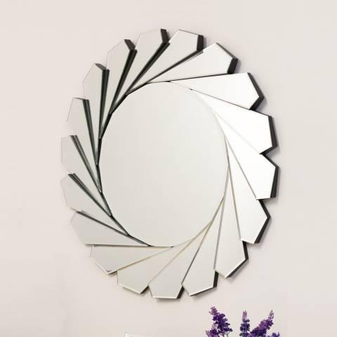 Milton Manor Aperture Round Wall Mirror 80cm