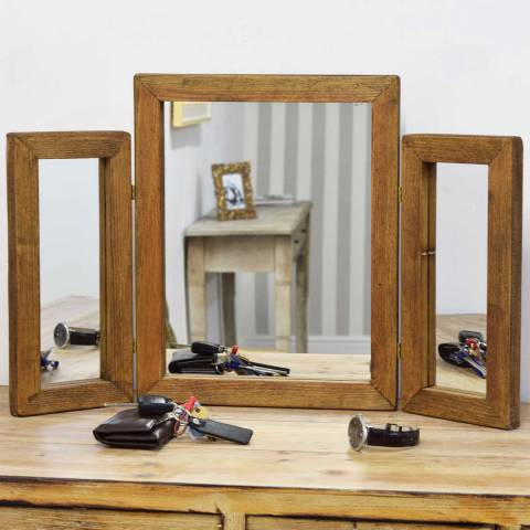 Milton Manor Farmhouse Dressing Table Mirror