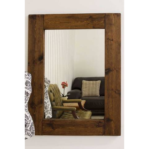 Milton Manor Farmhouse Wall Mirror 122x91cm