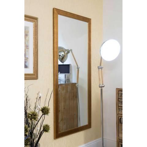 Milton Manor Gold Laurel Wall Mirror 165x74cm