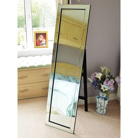 Milton Manor Horsley Free-Standing Cheval Mirror 150x40cm