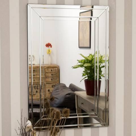 Milton Manor Langley Wall Mirror 90x60cm