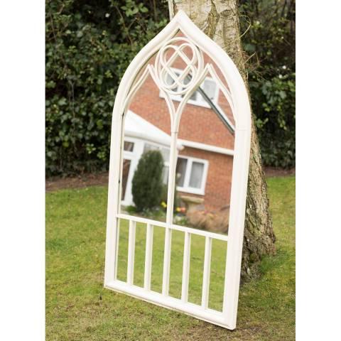 Milton Manor Somerley Country Arch Garden Wall Mirror 122x69cm
