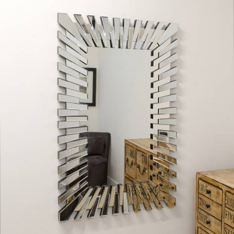 Milton Manor Starburst Wall Mirror 120x80cm