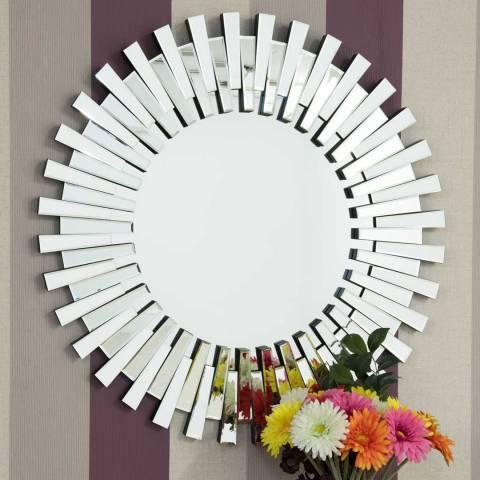 Milton Manor Starburst Round Wall Mirror 91cm