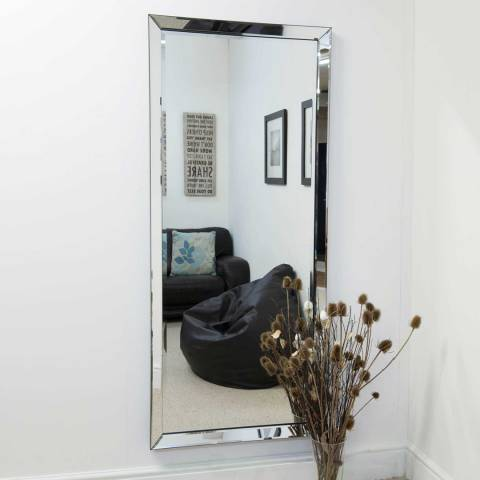 Milton Manor Turvey Wall Mirror 178x76cm