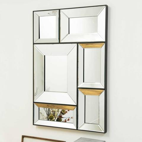 Milton Manor Turvey Wall Mirror 122x81cm