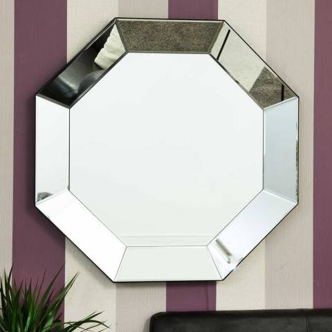 Milton Manor Turvey Wall Mirror 90x90cm