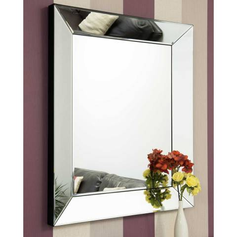 Milton Manor Turvey Wall Mirror 91x75cm