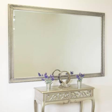 Milton Manor Vintage Silver Fenton Leaner/Wall Mirror 203x142cm