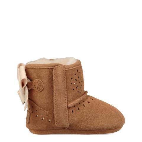 UGG Chestnut Jesse Bow II Sunshine Perf Boot
