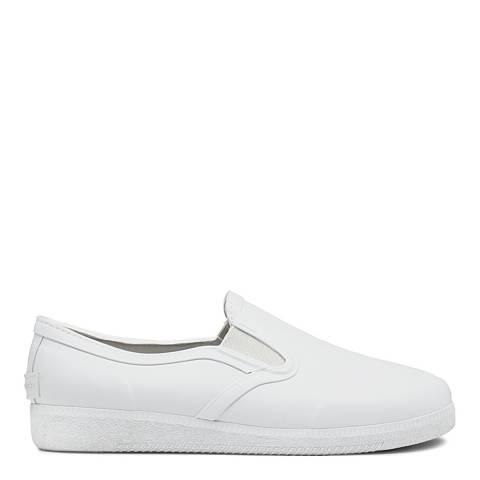 Hunter Women's White Refined Plimsoll