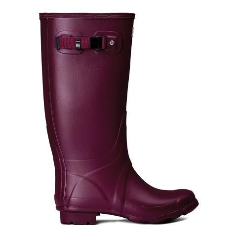 Hunter Women's Purple Field Huntress Tall Boot